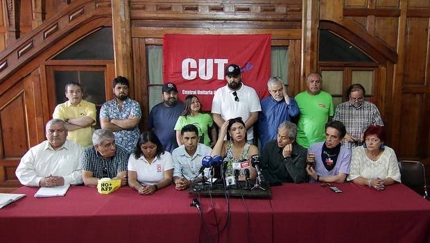 Unidad Social llama a paro sectorial para este lunes 25 y huelga nacional para el martes 26 de noviembre