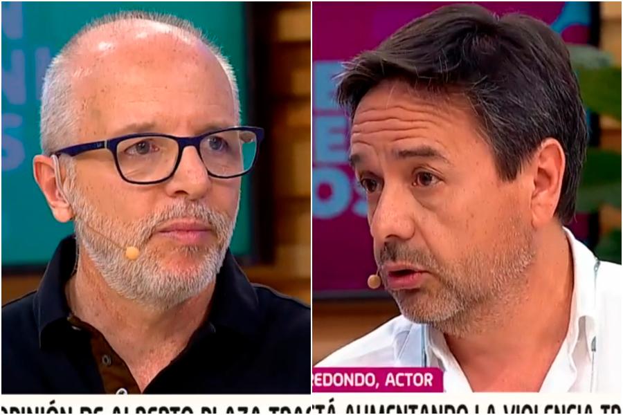 Insólito: Claudio Arredondo irrumpe en Bienvenidos y encara en vivo a Alberto Plaza