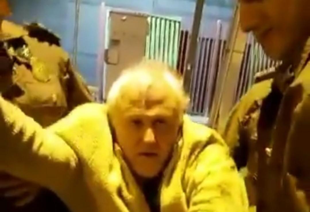 Carabinero FILTRA video del RUMPY  luego que éste los criticara DURAMENTE