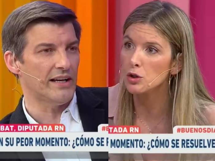 """""""Estás tirando frases para la galería"""": el fuerte cruce en vivo entre Daniel Stingo y Marcela Sabat"""