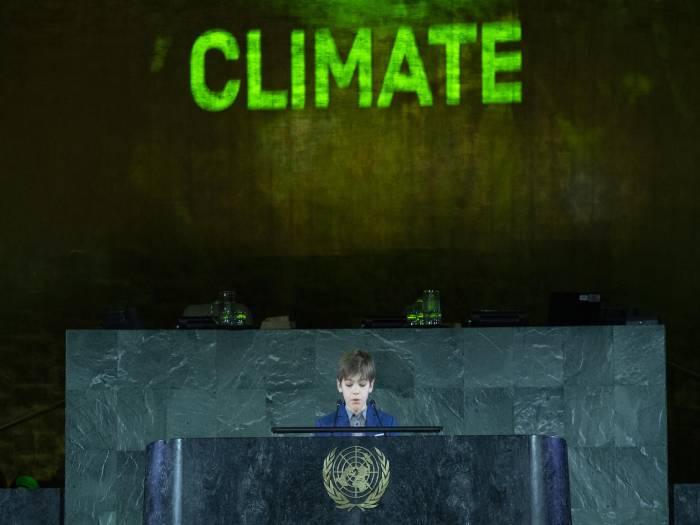 El mundo no sólo tiene a Greta… ONU aplaude a niño chileno