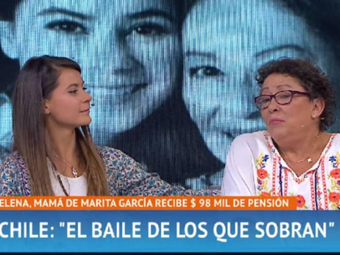 El dolor de Marita García: su mamá recibe $98 mil de pensión y padece cáncer de mama