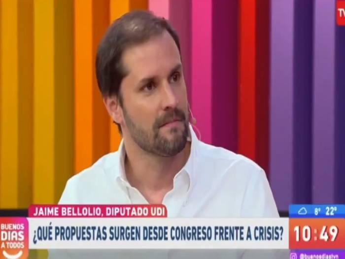 """""""¡Qué tiene que ver Venezuela!"""": Iván Núñez paró en seco al diputado Jaime Bellolio"""