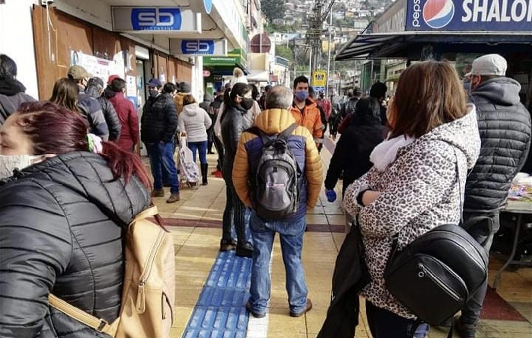 RECORD DE CONTAGIOS EN EL BIOBÍO, se registran 335 casos en las últimas 24 horas