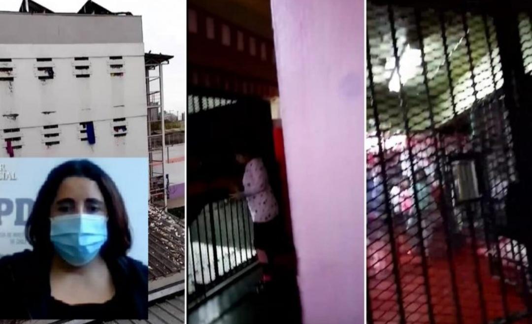 Así fue el TERRORÍFICO recibimiento de la madre de Ámbar en la CÁRCEL de San Miguel