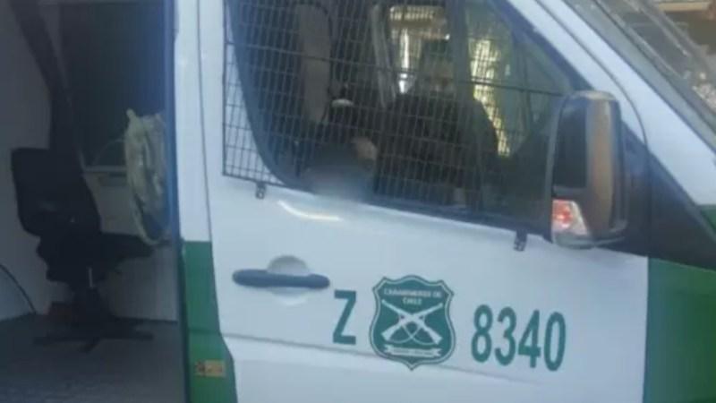 DEAMBULANDO SOLO Y DESCALZO fue encontrado pequeño de 3 años en el centro de Concepción