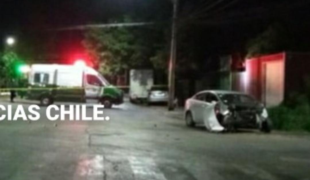 Delincuente FALLECE tras CHOCAR en vehiculo robado minutos antes