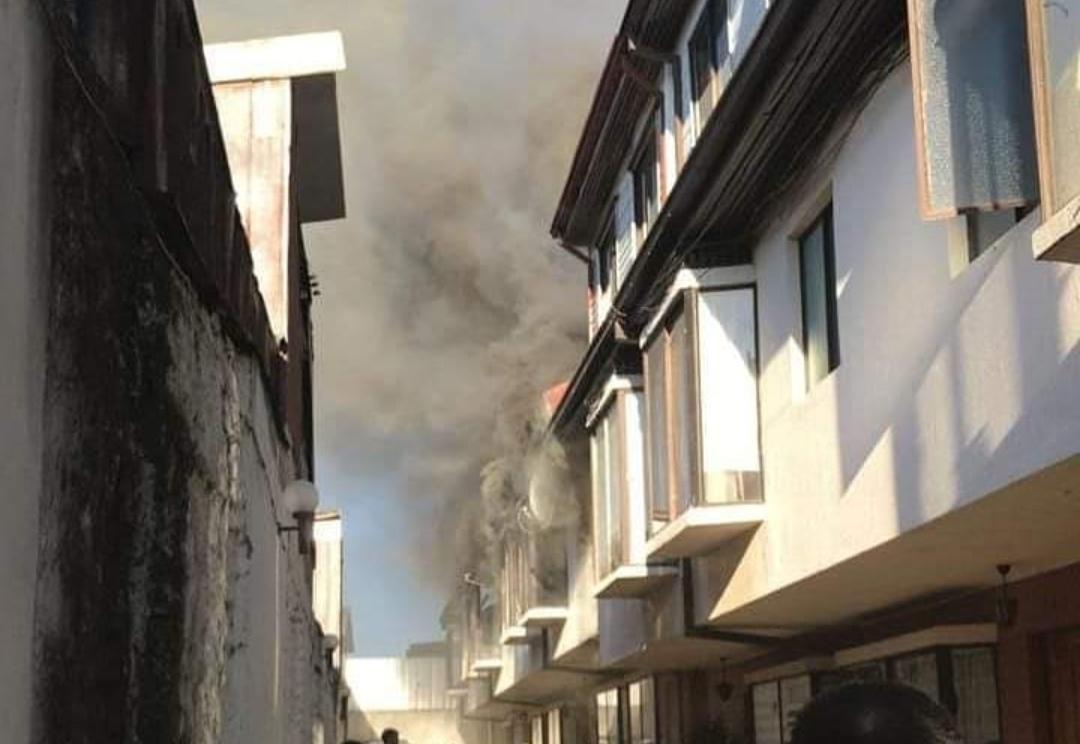 Al menos 2 viviendas afectadas por INCENDIO en pleno centro de Concepción