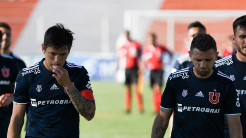 Universidad de Chile informa CASO POSITIVO de covid-19 antes del partido ante UdeC