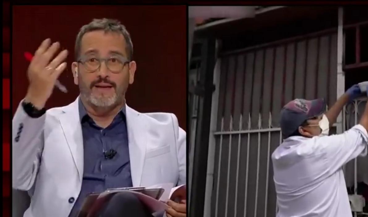 «Un ERROR de enfoque»: Eduardo Fuentes MOLESTO con autoridades por CÓMO se INFORMA del covid