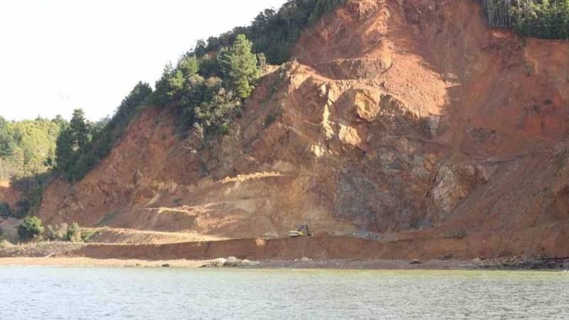 CRIMEN AMBIENTAL: Empresa DESTRUYÓ PLAYAS en península de Tumbes, Talcahuano