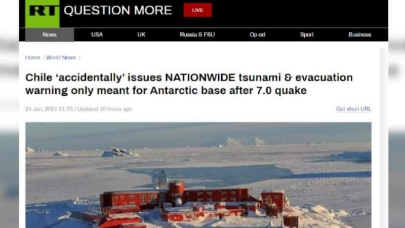 RIDÍCULO MUNDIAL: Medios internacionales FESTINARON con FALSA ALARMA de Tsunami en Chile