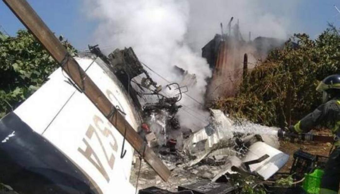 AHORA! Avioneta cae SOBRE casa provocando INCENDIO en Curacaví