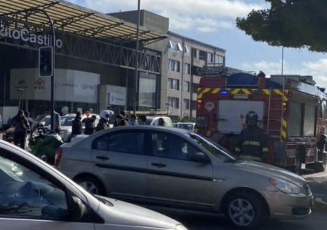 Colision a ALTA ENERGÍA deja varios HERIDOS en pleno centro de Concepción