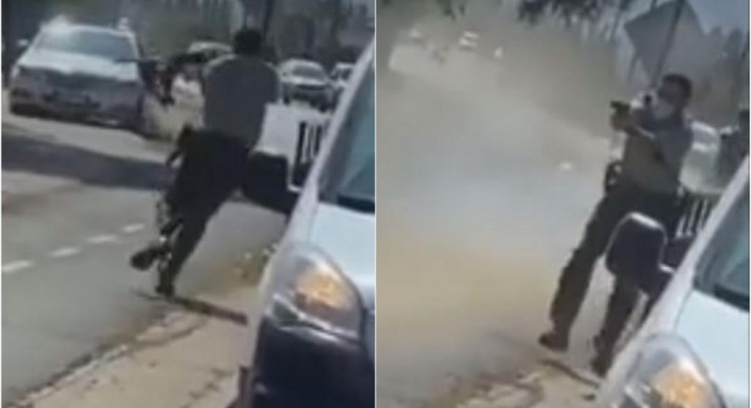 ATROPELLO de Carabinero y BALACERA en Machalí: Video capta momento del incidente tras control de fiscalización