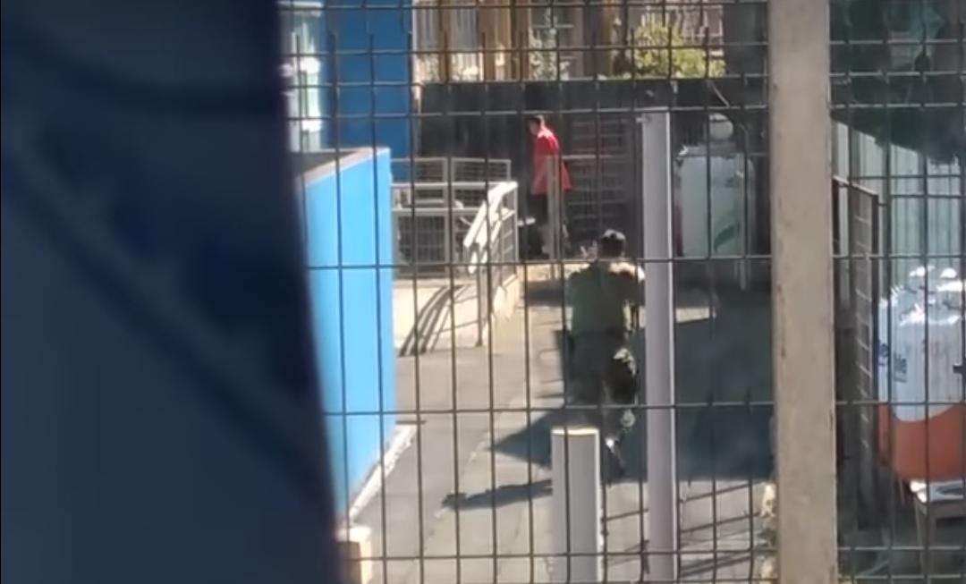 IN FRAGANTI!! Carabineros detienen a delicuentes mientras ROBABAN JARDIN infantil en San Pedro de la Paz