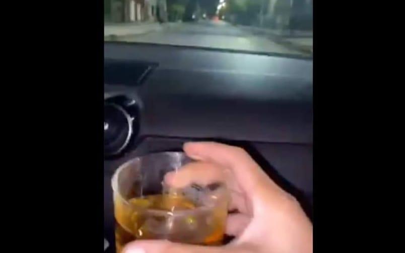 Se grabaron TOMANDO alcohol y MANEJANDO: minutos después CHOCARON, MURIENDO dos hermanas