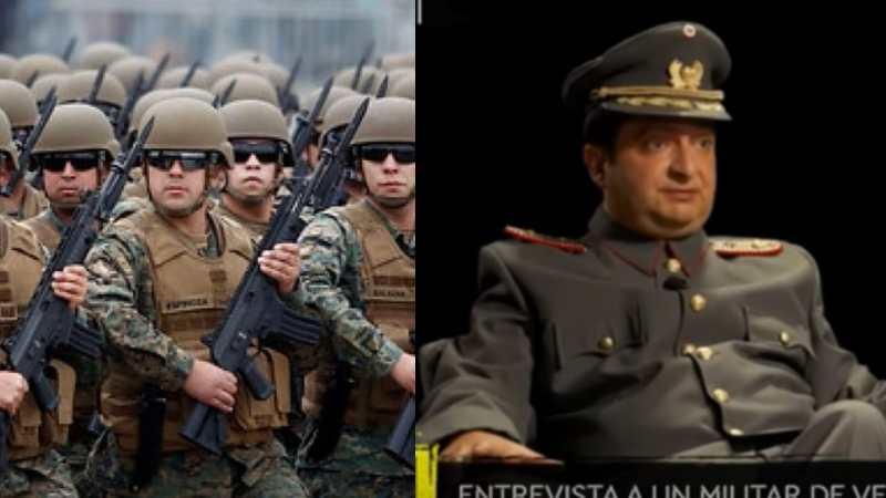 Ejército se ENOJÓ por parodia de Toto y Belenaza en La Red