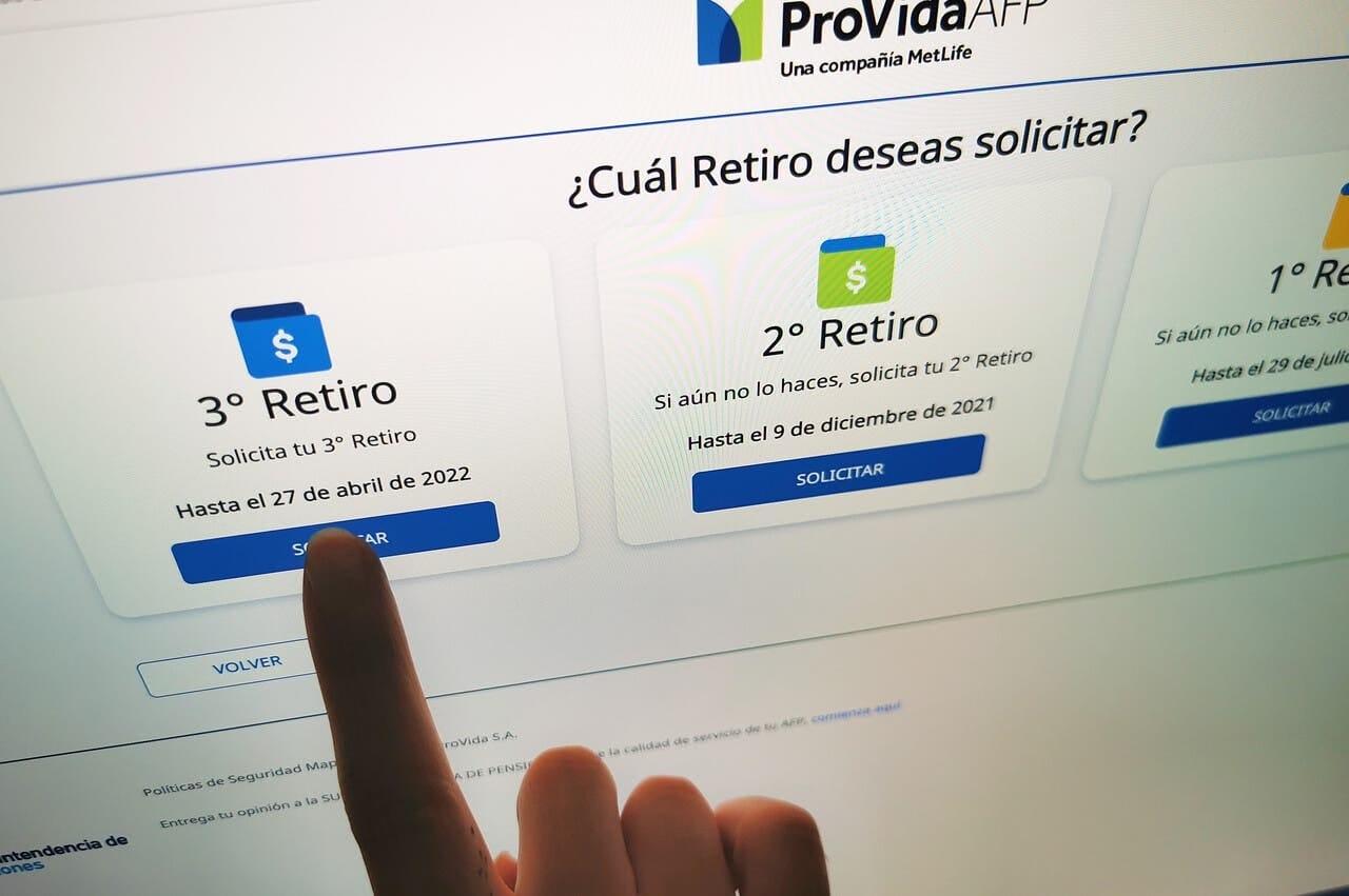 AFP informa que comenzará a PAGAR HOY tercer retiro del 10%