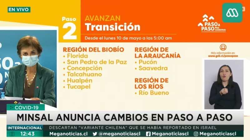 Comunas del gran Concepción SALEN DE CUARENTENA a partir del LUNES