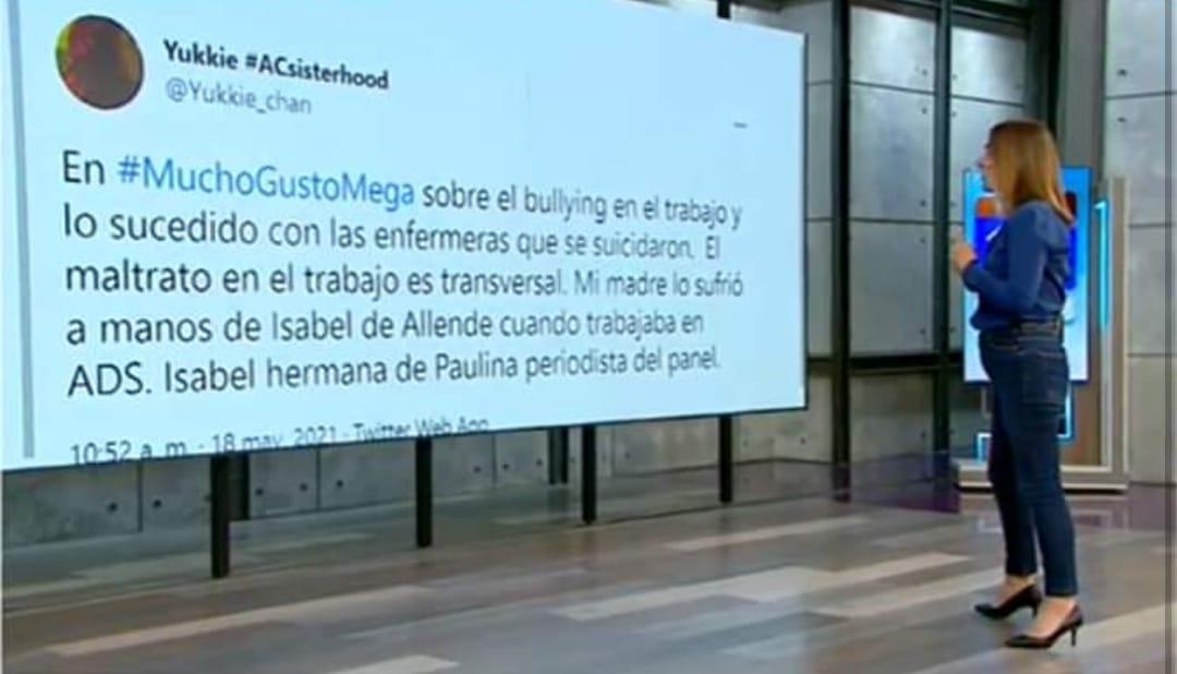 Leyó en vivo ACUSACIÓN contra hermana: Paulina Allende-Salazar responde a INCÓMODO momento