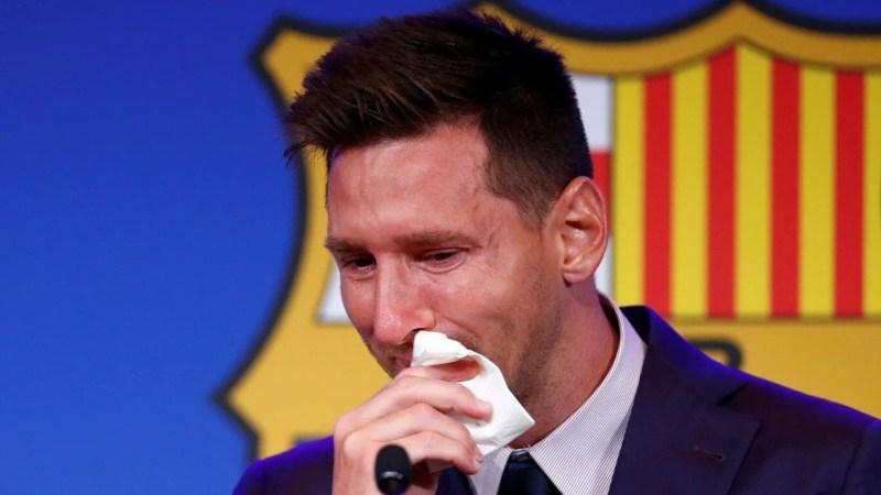 Pañuelo usado por Messi lo venden en 1 millón de dólares