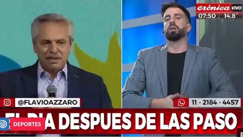 """«Los putos se mueren de hambre en este país""""Periodista deportivo furioso con Gobierno argentino"""