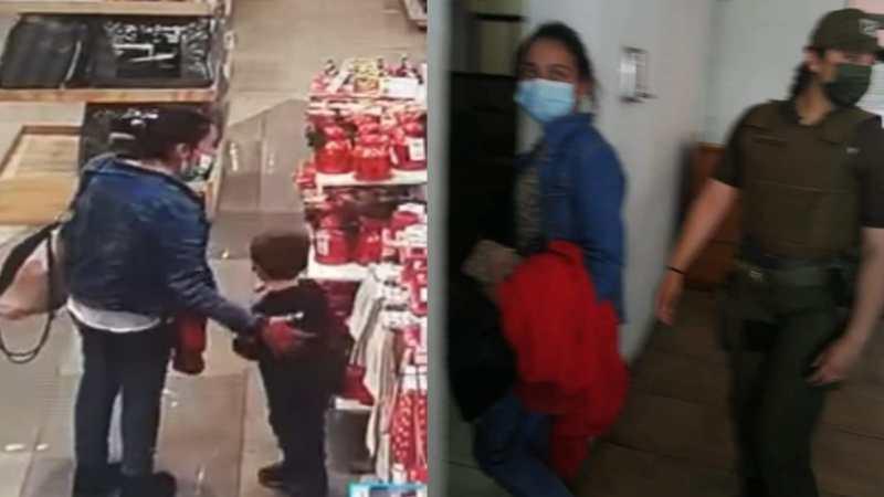 Video: Madre denuncia a mujer que le intentó ROBAR A SU HIJO en tienda HITES
