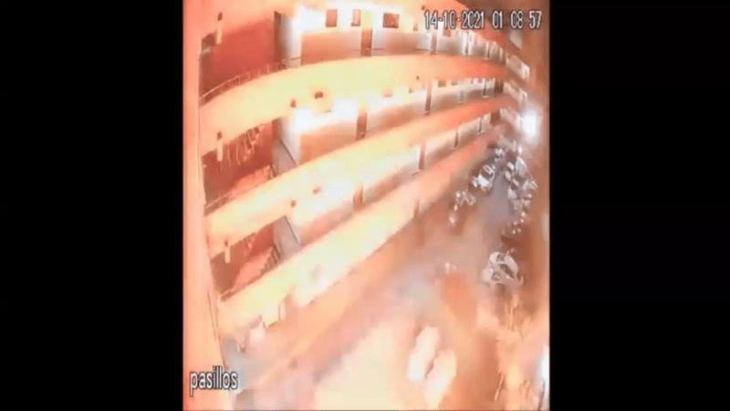 IMPACTO! Hombre quedó con diversas lesiones tras explosión en su departamento en La Cisterna