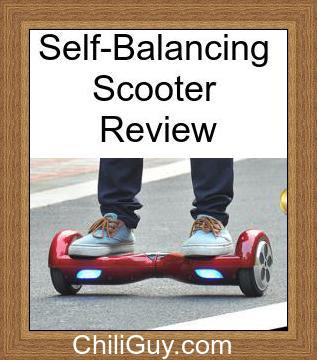 self balancing scooter review 2015