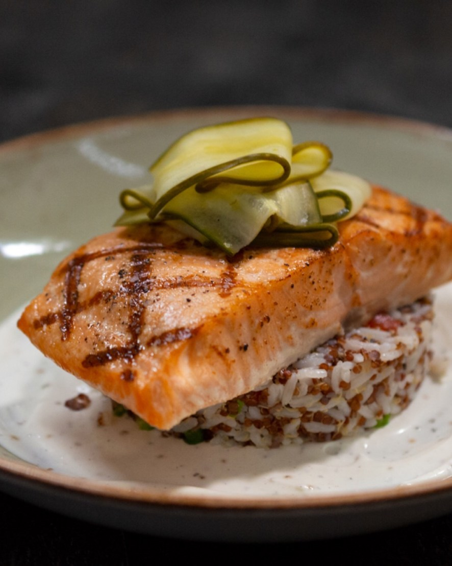 hard rock Grilled Salmon