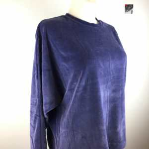 Organication kuscheliges Nicky-Sweatshirt in skipper blue Biobaumwolle