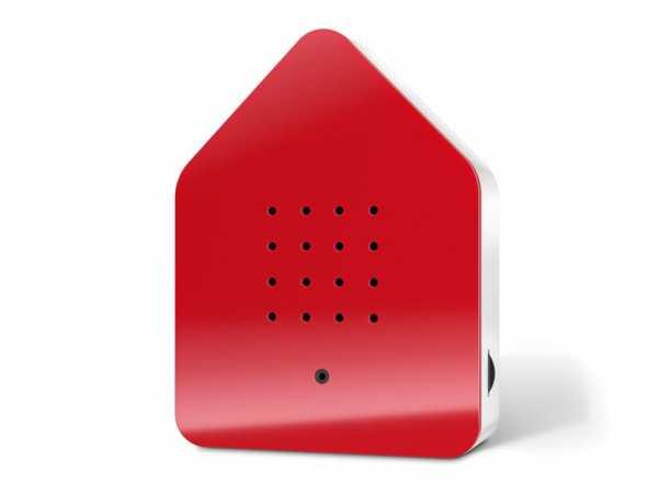 Zwitscherbox-rot