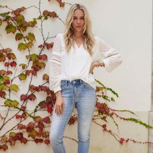 Esqualo-Bluse-white