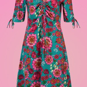 Tante Betsy-Retro-Kleid-biobaumwolle