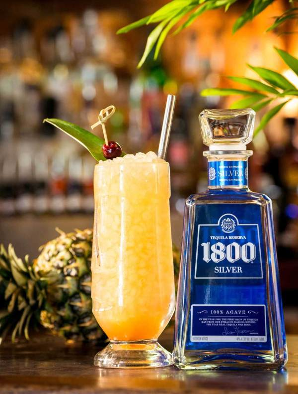 Classic Tiki Cocktails National Tequila Day Chilled