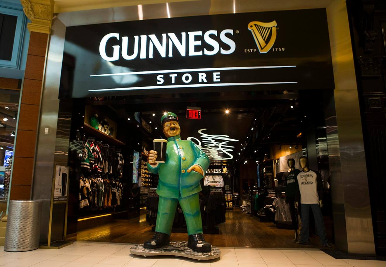 Guinness Store in Las Vegas Unveils the Perfect Pint