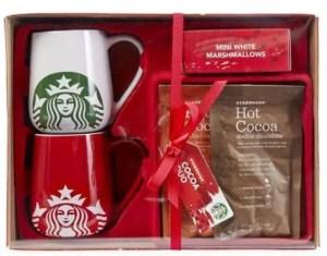 starbucks hot chocolate set