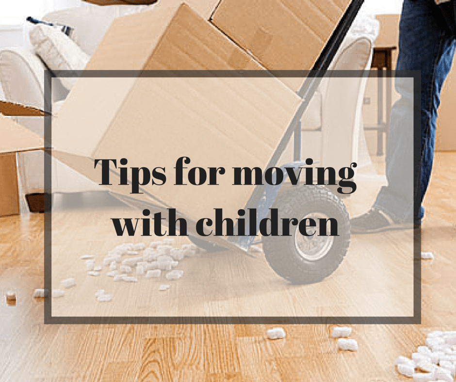 Moving house with a child