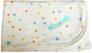 christmas gift ideas, personalised baby blanket