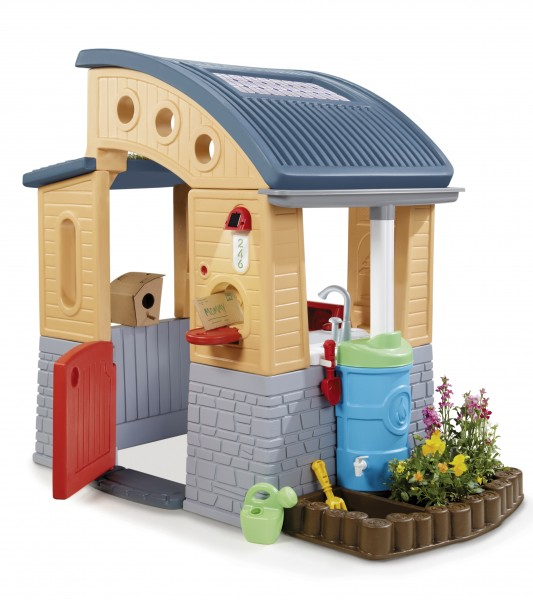 Lazy gardeners little tikes go green playhouse