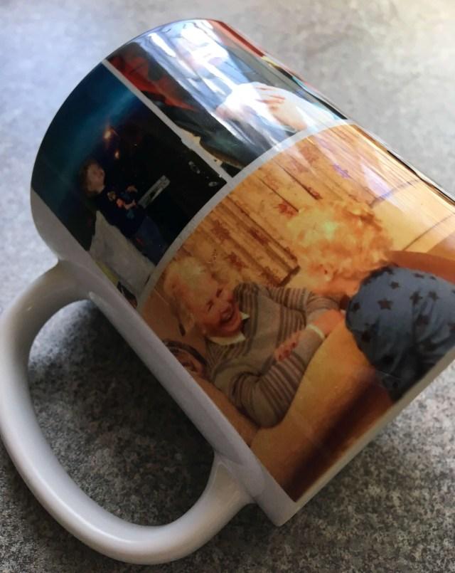 Snapfish photo mug