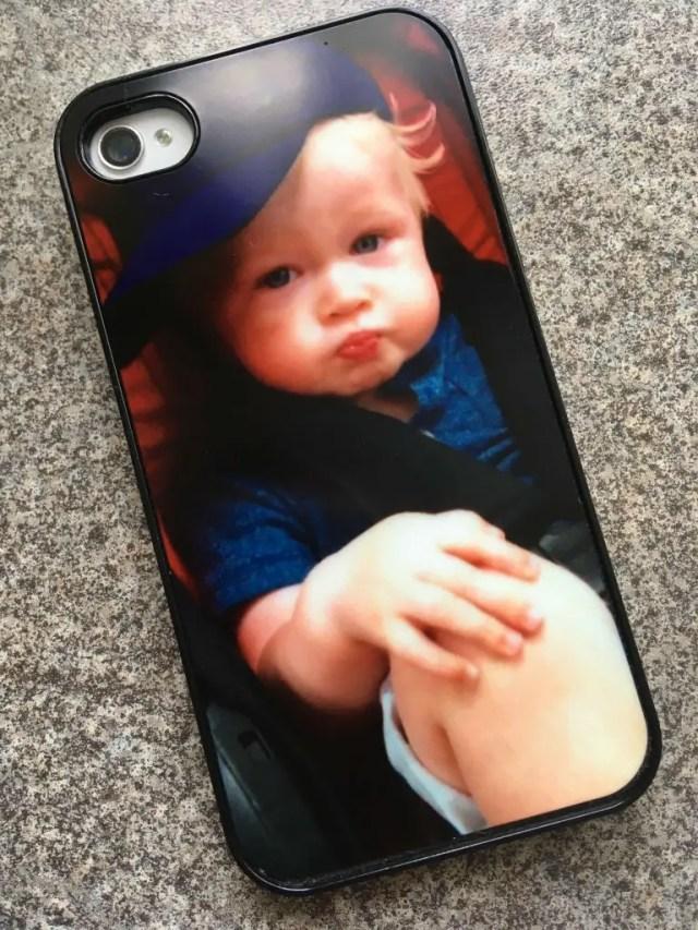 Snapfish personalised phone case