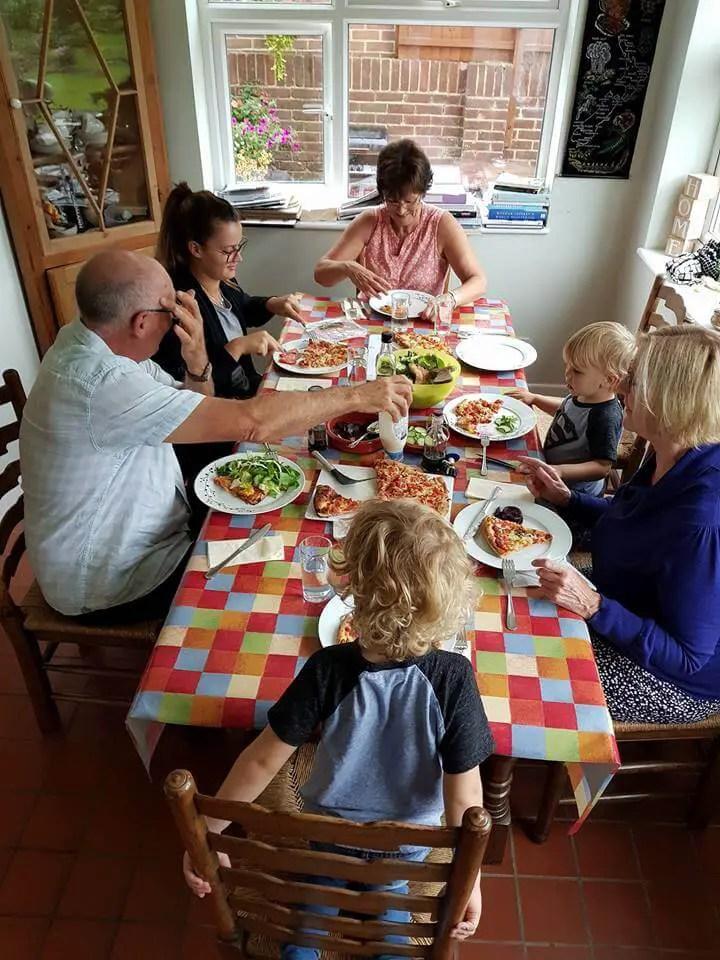 the importance of family meals #familydinner