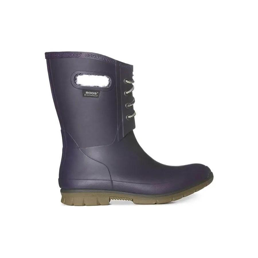 Winter boots purple bogs wellington boots