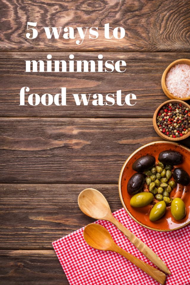 5 ways to minimise food waste