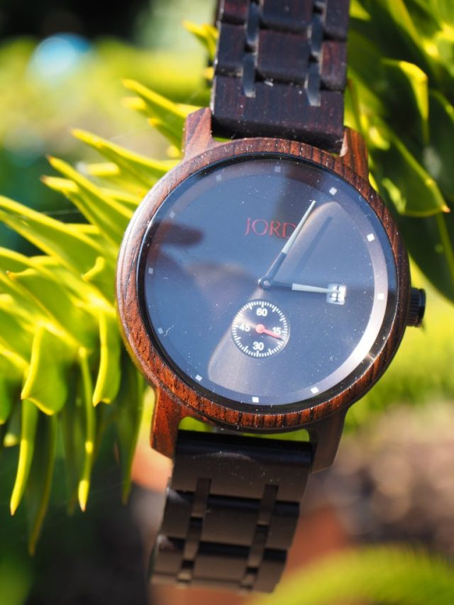 Unique Wooden Watch for Men