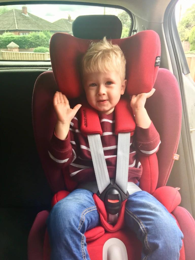 Apramo Eros car seat review