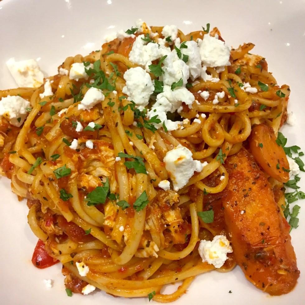 Spitroast, Liverpool review Chicken pasta