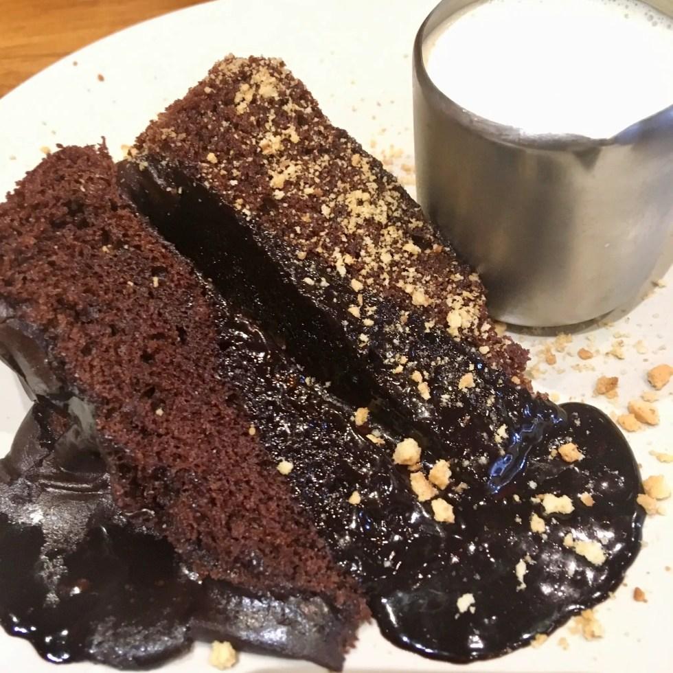 Spitroast, Liverpool review Melting chocolate cake